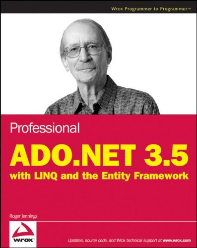 9780470182611: Professional ADO.NET 3.5 with LINQ and the Entity Framework (Wrox Programmer to Programmer)