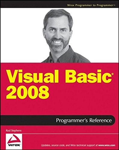 9780470182628: Visual Basic 2008 Programmer's Reference