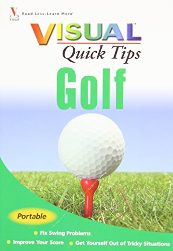 9780470182666: Golf VISUAL Quick Tips