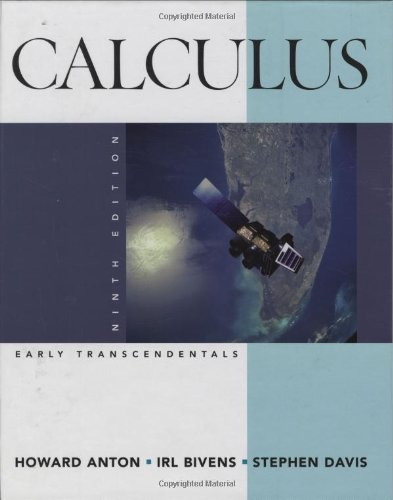 9780470183458: Calculus: Early Transcendentals