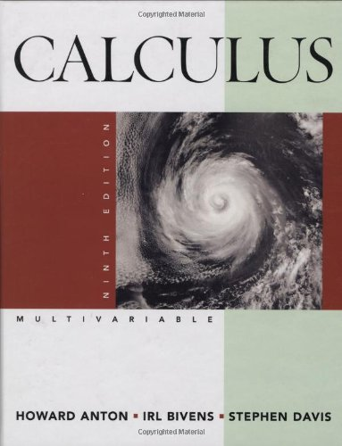 9780470183465: Calculus: Multivariable