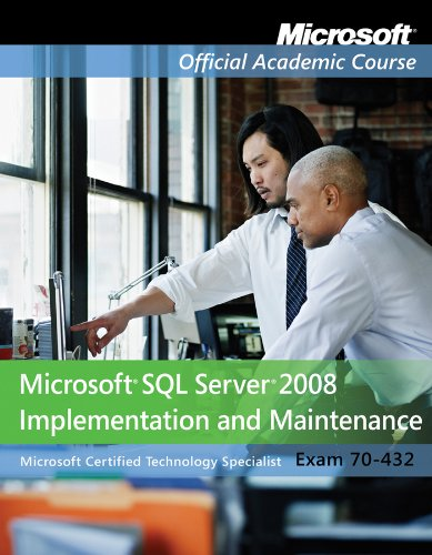 9780470183762: Exam 70-432: Microsoft SQL Server 2008 Implementation and Maintenance with Lab Manual Set