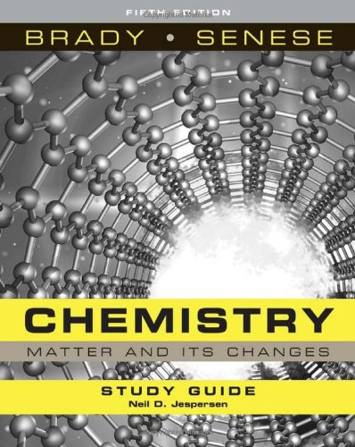 9780470184646: Study Guide to accompany Chemistry: The Study of of Matter and Its Changes, Fifth Edition