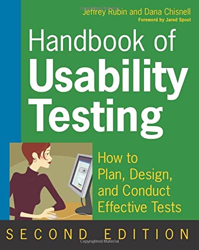 9780470185483: Handbook of Usability Testing: How to Plan, Design, and Conduct Effective Tests