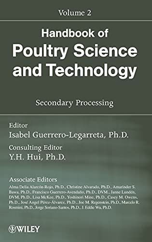 9780470185537: Handbook of Poultry Science and Technology, Volume 2: Secondary Processing