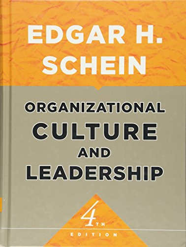 9780470185865: Organizational Culture and Leadership (Jossey-Bass Business & Management Series)