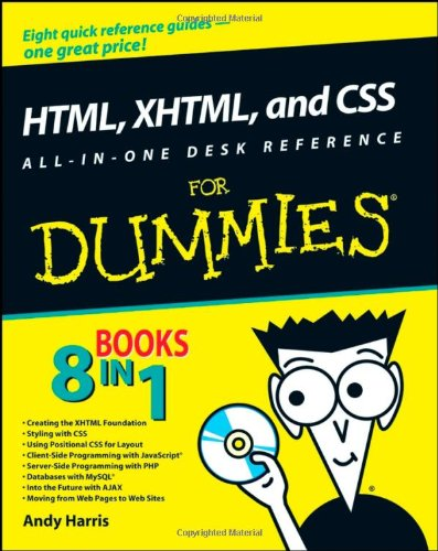 9780470186275: HTML, XHTML, and CSS All-in-One Desk Reference For Dummies