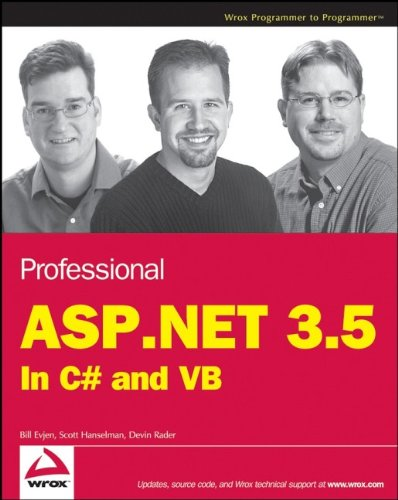 9780470187579: Professional ASP.NET 3.5: In C# and VB (Programmer to Programmer)