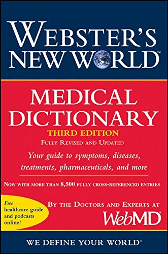 9780470189283: Webster's New World Medical Dictionary, 3rd Edition