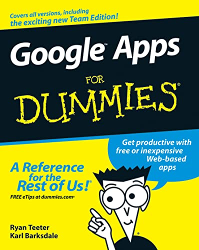 9780470189580: Google Apps For Dummies