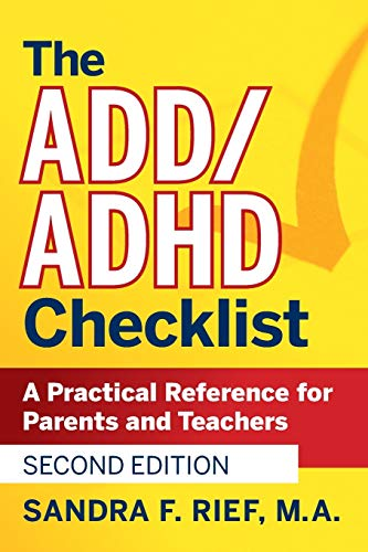 9780470189702: The ADD/ADHD Checklist: A Practical Reference for Parents and Teachers (J-B Ed: Checklist)
