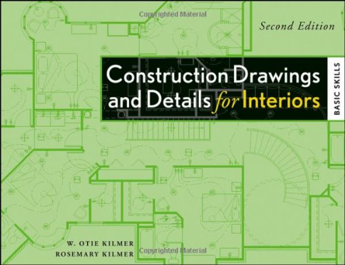 9780470190418: Construction Drawings and Details for Interiors: Basic Skills, 2nd Edition