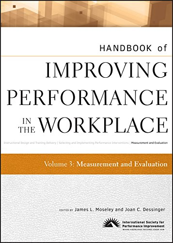 9780470190678: Handbook of Improving Performance in the Workplace, Measurement and Evaluation (Volume 3)