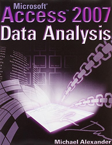 9780470190920: Excel 2007 Advanced Report Development / Microsoft Access 2007 Data Analysis