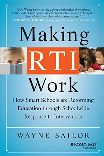 9780470193211: Making RTI Work: How Smart Schools are Reforming Education through Schoolwide Response-to-Intervention