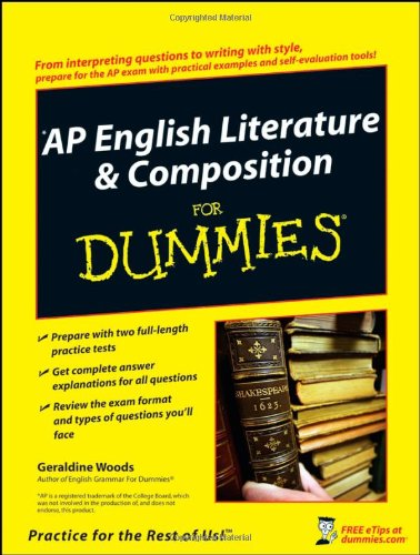 9780470194256: AP English Literature and Composition For Dummies