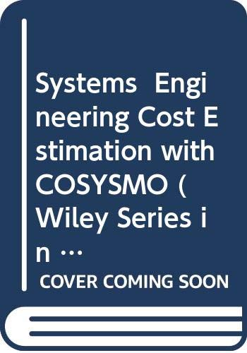 9780470195499: Systems Engineering Cost Estimation With Cosysmo
