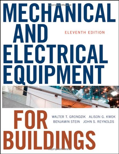 9780470195659: Mechanical and Electrical Equipment for Buildings