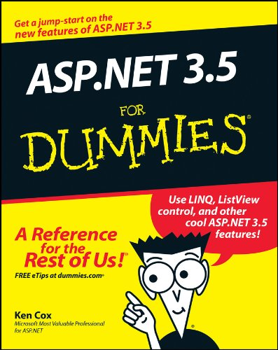 9780470195925: ASP.Net 3.5 for Dummies