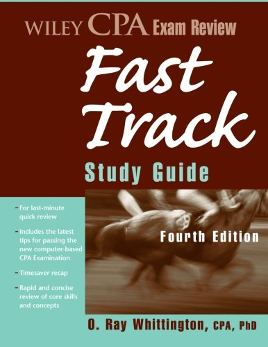 9780470196090: Wiley CPA Exam Review Fast Track Study Guide