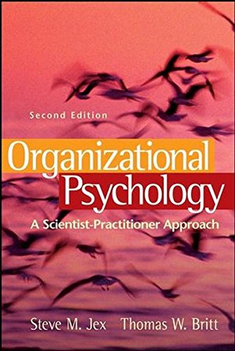 9780470196472: Organizational Psychology: A Scientist-Practitioner Approach
