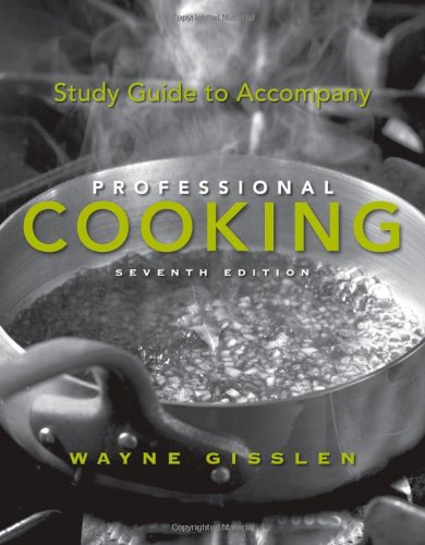 9780470197516: Study Guide to Accompany Professional Cooking