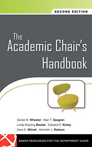 9780470197653: The Academic Chair's Handbook