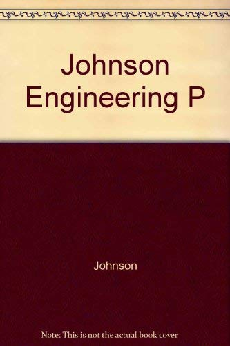 9780470200124: Johnson Engineering P (Ellis Horwood series in engineering science)