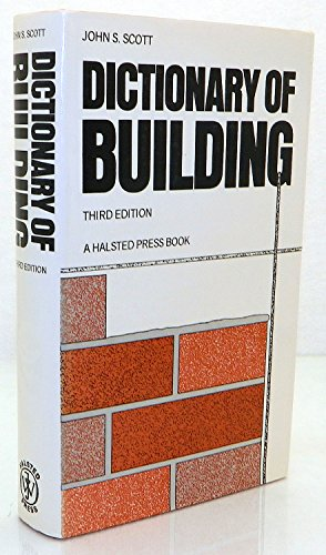 9780470200162: Dictionary of Building