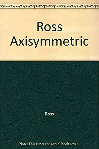 9780470200353: Ross Axisymmetric (Ellis Horwood Series in Mathematics and Its Applications)