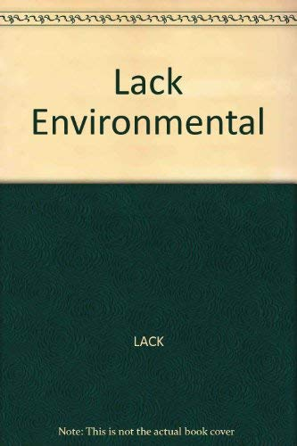 Environmental Protection: Standards, Compliance and Costs: T. J. Lack [Editor]