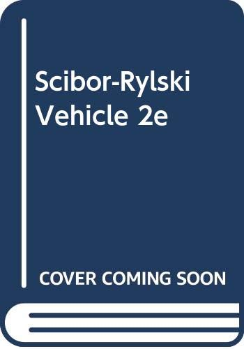 9780470200971: Scibor-Rylski Vehicle 2e