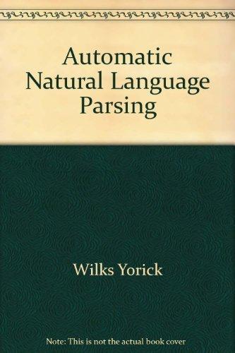9780470201657: Automatic Natural Language Parsing