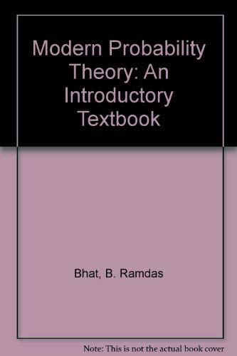 9780470202623: Modern Probability Theory: An Introductory Textbook