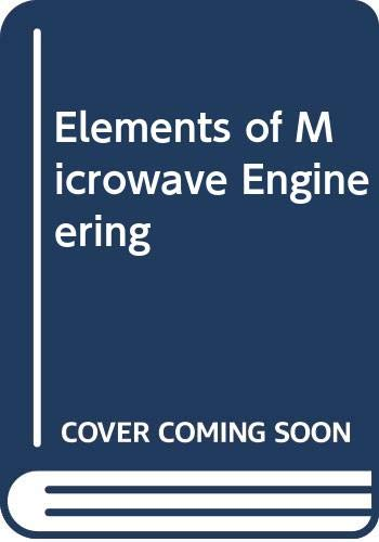 9780470203118: Elements of Microwave Engineering