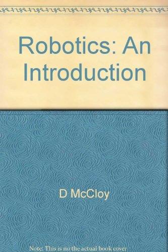 9780470203255: Robotics: An introduction (Open University Press robotics series)
