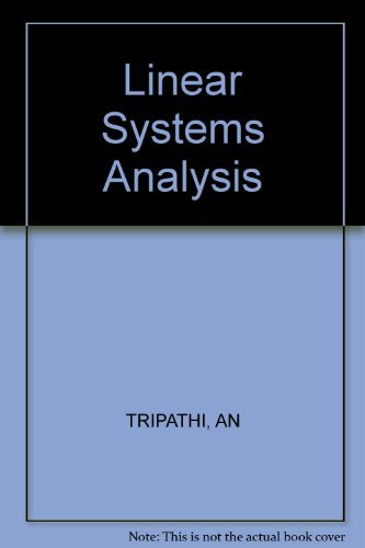 9780470203545: Linear Systems Analysis