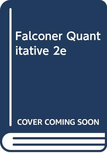9780470204740: Falconer Quantitative 2e