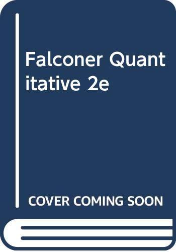 9780470204740: Falconer Quantitative 2e