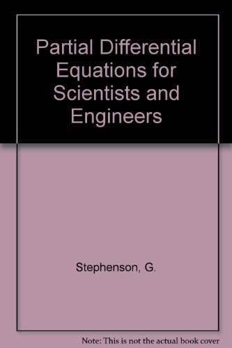 9780470206249: Partial Differential Equations for Scientists and Engineers