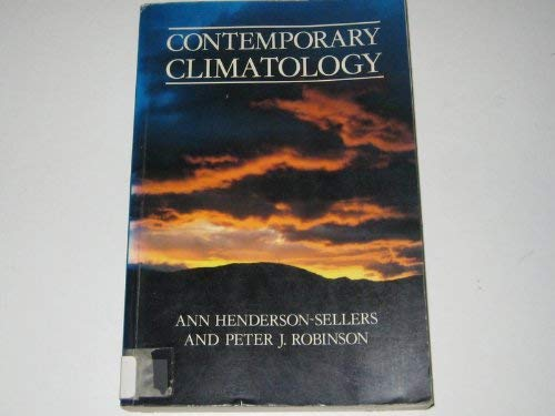 9780470206645: Contemporary Climatology
