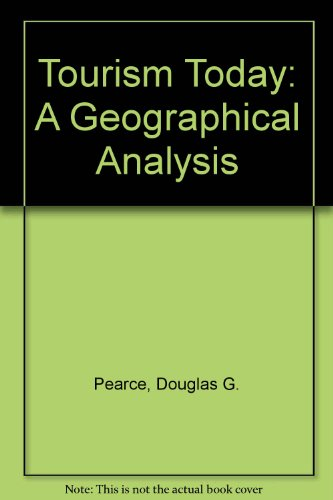 9780470206829: Tourism Today: A Geographical Analysis