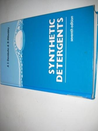 9780470207222: Synthetic Detergents