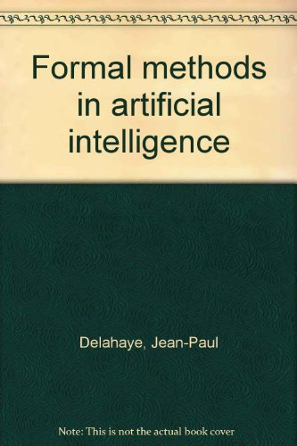 9780470208267: Formal methods in artificial intelligence