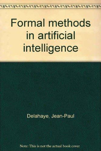 9780470208267: Formal methods in artificial intelligence