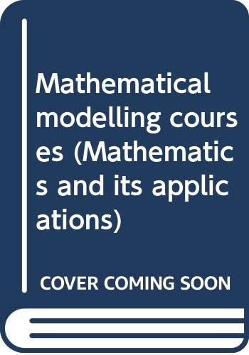 9780470208366: Mathematical Modelling Courses