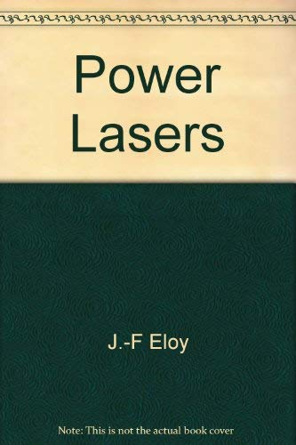 9780470208519: Power lasers (Ellis Horwood series in electrical and electronic engineering)