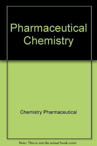 9780470210376: Pharmaceutical Chemistry, Vol. 1: Drug Synthesis (Ellis Horwood Books in Biological Sciences, Series in Pharmaceutical Technology)