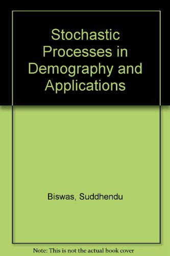 9780470210482: Stochastic Processes in Demography and Applications