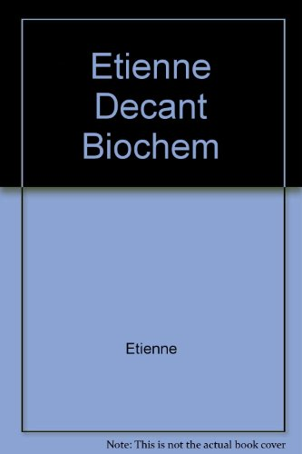 9780470211397: Genetic Biochemistry: From Gene to Protein (English and French Edition)